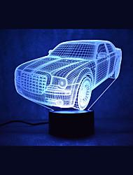 Недорогие -1 комплект 3D ночной свет Поменять USB Сенсорный датчик С портом USB Меняет цвета