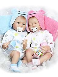 economico -NPKCOLLECTION Bambole Reborn Bambine 22 pollice Silicone - realistico Per bambino Unisex Regalo