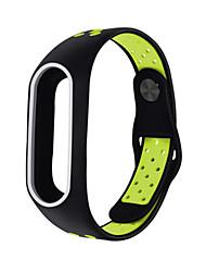 cheap -Watch Band for Mi Band 2 Xiaomi Sport Band Silicone Wrist Strap