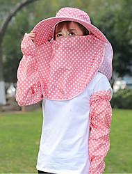 cheap -Women's Polyester Sun Hat - Polka Dot Basic