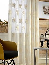 preiswerte -Stickerei Wohnzimmer Baumwolle/Polyester Metall