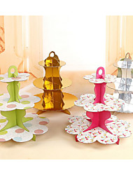 Birthday Party Party Tableware - Cake Stand Patterned Ruffle Paper Birthday