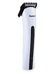 billige Barbering og hårfjerning-Kemei Hair Trimmers for Damer og Herrer 100-240V Strømlys Indikator Lett og praktisk Håndholdt design
