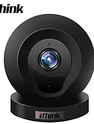 cheap -Ithink 1.0 MP Indoor with Zoom 64GB (32GB enough)(Built-in speaker Built-in Microphone Motion Detection Dual Stream Remote Access) IP