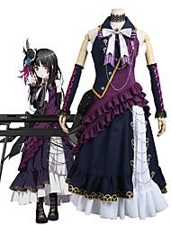 economico -Ispirato da BanG Dream Cosplay Anime Costumi Cosplay Abiti Cosplay Altro Senza maniche Foulard / Abito / Altri accessori Per Per uomo / Per donna Costumi Halloween