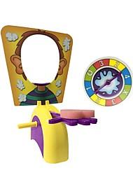 Недорогие -Шутки и фокусы / Игры с забавными мордашками Семья Специально разработанный Пластиковый корпус Подарок