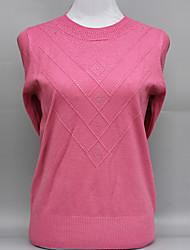 preiswerte -Damen Langarm Pullover - Solide