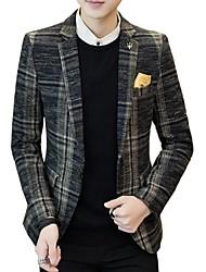 cheap -Men's Business Blazer-Striped