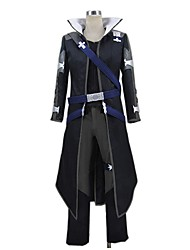 cheap -Inspired by Sword Art Online SAO Kirito Swordman Cosplay Anime Cosplay Costumes Cosplay Suits Other Long Sleeves Top Pants Gloves More