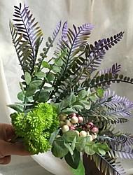 abordables -Fleurs artificielles 4.0 Une succursale Rustique / Fleurs de mariage Plantes succulentes / Plantes Fleur de Table