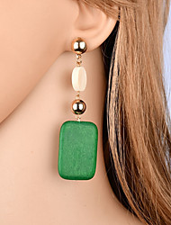 cheap -Women's Drop Earrings - Fashion, Elegant Orange / Green For Gift / Evening Party