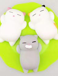 Недорогие -LT.Squishies Резиновые игрушки Кошка Животный принт Животный принт Стресс и тревога помощи Товары для офиса болотистый 3 pcs Взрослые Игрушки Подарок