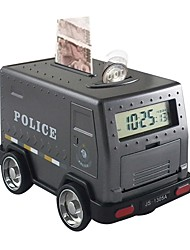 cheap -Piggy Bank / Money Bank Armored Car / Cash Truck Family Alarm Clock Shocking Bank Large Size Password Lock Plastic Shell Boutique Kid's