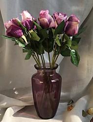 Недорогие -Искусственные Цветы 5 Филиал Деревня / Свадьба Розы Букеты на стол