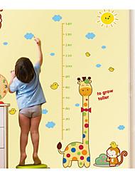 Недорогие -Абстракция Животные Наклейки Простые наклейки Наклейки для животных Декоративные наклейки на стены, Бумага Украшение дома Наклейка на