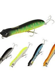 baratos -1pcs pçs Popper de Pesca PVC Pesca de Mar Isco de Arremesso Rotação Pesca de Gancho Pesca de Água Doce