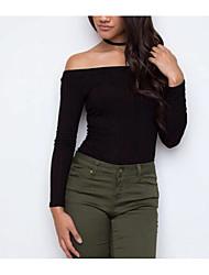Žene Jednostavan Pullover Jednobojni