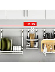 baratos -Aço Inoxidável Gadget de Cozinha Criativa Acessórios para gabinete 1pç Organização de cozinha