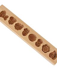 Недорогие -Инструменты для выпечки Дерево Своими руками Повседневное использование / Для торта Формы для пирожных 1шт