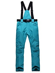 cheap -Men's / Women's Ski / Snow Pants Warm, Waterproof, Windproof Skiing / Camping / Hiking / Ski / Snowboard Polyester Snow Bib Pants / Pants