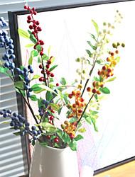Недорогие -Искусственные Цветы 1 Филиал Деревня / Простой стиль Pастений Букеты на стол