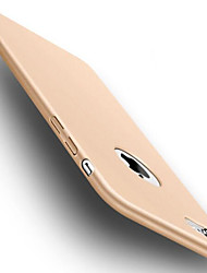 Недорогие -Кейс для Назначение Apple iPhone 6 iPhone 7 Защита от удара Кейс на заднюю панель Сплошной цвет Мягкий ТПУ для iPhone 7 Plus iPhone 7