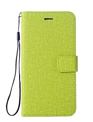 cheap -Case For LG K3 (2017) Card Holder Wallet with Stand Flip Full Body Cases Solid Colored Hard PU Leather for LG K10 LG K8 LG K7 LG K3 (2017)