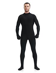 بدل زانتاي النينجا ملابس الزينتاي أزياء Cosplay أسود سادة ملابس الزينتاي سباندكس ليكرا للجنسين Halloween حفلة تنكرية