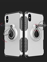 abordables -Coque Pour Apple iPhone X iPhone 8 Antichoc Anneau de Maintien Coque Armure Flexible TPU pour iPhone X iPhone 8 Plus iPhone 8 iPhone 7