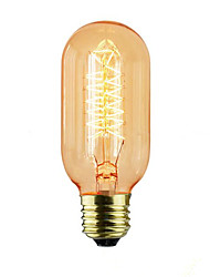 cheap -Industrial Designer Retro Edison Lamp / Tungsten Filament Incandescent Lamp 40W 220V
