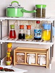 Недорогие -1 комплект Коробки для хранения Поликарбонат Аксессуар для хранения Кухонная организация