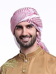 cheap -Men's Polyester Hijab - Striped