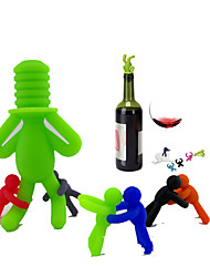 cheap -Wine Stoppers Silicone, Wine Accessories High Quality CreativeforBarware 9*5*2 0.05