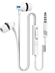 cheap -Earphones (Earbuds, In-Ear) Wired Headphones Piezoelectricity Plastic Shell Mobile Phone Earphone Headset