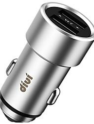 Недорогие -Автомобильное зарядное устройство Телефон USB-зарядное устройство USB Несколько разъемов QC 3.0 2 USB порта 3.1A DC 12V-24V