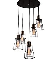abordables -OYLYW Rétro Lampe suspendue Lumière d'ambiance - Style mini, 110-120V / 220-240V Ampoule non incluse