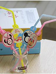 baratos -Festa de aniversário Jogos de Mesa para Festas - Canudinhos Estampada Plásticos Cartão de Papel Duro Aniversário