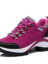abordables -Femme Chaussures Polyuréthane Hiver Automne Confort Chaussures d'Athlétisme Randonnée Talon Plat Bout rond pour Athlétique Décontracté