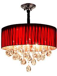 cheap -QIHengZhaoMing 8-Light Pendant Light Ambient Light - Crystal, Eye Protection, 110-120V / 220-240V Bulb Included / 15-20㎡