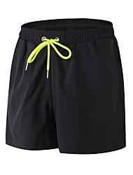 preiswerte -Herrn Laufschuhe Atmungsaktivität Shorts/Laufshorts Outdoor Übungen Jogging Polyester Weiß Schwarz Blau Rot/Weiß Grau S M L XL XXL