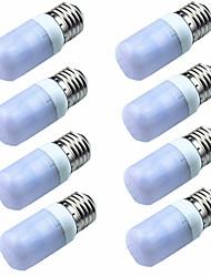 Недорогие -8шт 3W 200lm E14 G9 GU10 E26 / E27 E12 LED лампы типа Корн T 6 Светодиодные бусины SMD 5730 Декоративная Тёплый белый Холодный белый