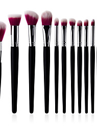 cheap -11pcs Professional Makeup Brushes Makeup Brush Set / Suits / Powder Brush Synthetic Hair Eco-friendly / Soft / Comfy Beech Wood Eye /