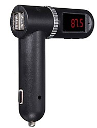 cheap -4.2A Car Kit FM Transmitter USB Charger MP3 LCD for Iphone and Sumsung