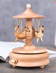 baratos -Personalizado Madeira Caixa de música Noiva Dama de Honor Amigos Bebés e Crianças Aniversário Roupa Diária