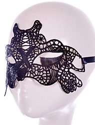 cheap -Holiday Decorations Halloween Decorations Halloween Masks Special Design Fashionable Design Wedding High Quality Easy dressing Black 1pc