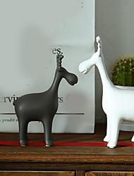abordables -2pcs Céramique Style SimpleforDécoration d'intérieur, Décorations pour la maison