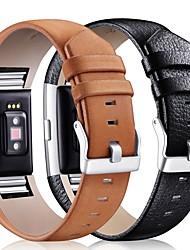 Недорогие -Ремешок для часов для Fitbit Charge 2 Fitbit Классическая застежка Кожа Повязка на запястье