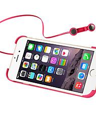 Недорогие -Кейс для Назначение Apple iPhone 6s iPhone 6 со стендом наушник Кейс на заднюю панель Сплошной цвет Твердый ПК для iPhone 6s iPhone 6