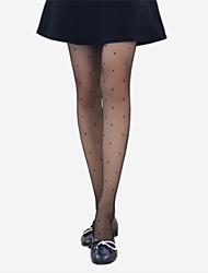 cheap -Women's Thin Pantyhose-Solid Polka Dot