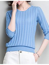 povoljno -Žene Jednostavan Aktivan Pullover - Osnovni, Jednobojni